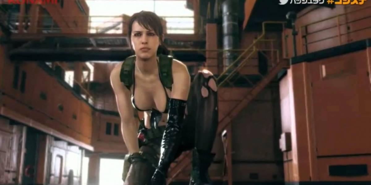 La francotiradora Quiet protagoniza el teaser de Metal Gear Solid V: The Phantom Pain