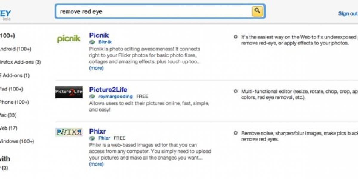 Quixey, el nuevo motor de búsqueda de aplicaciones