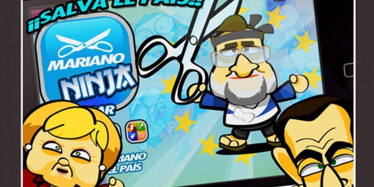 Ayuda a Mariano Rajoy a recortar 'a lo Ninja' el presupuesto de España