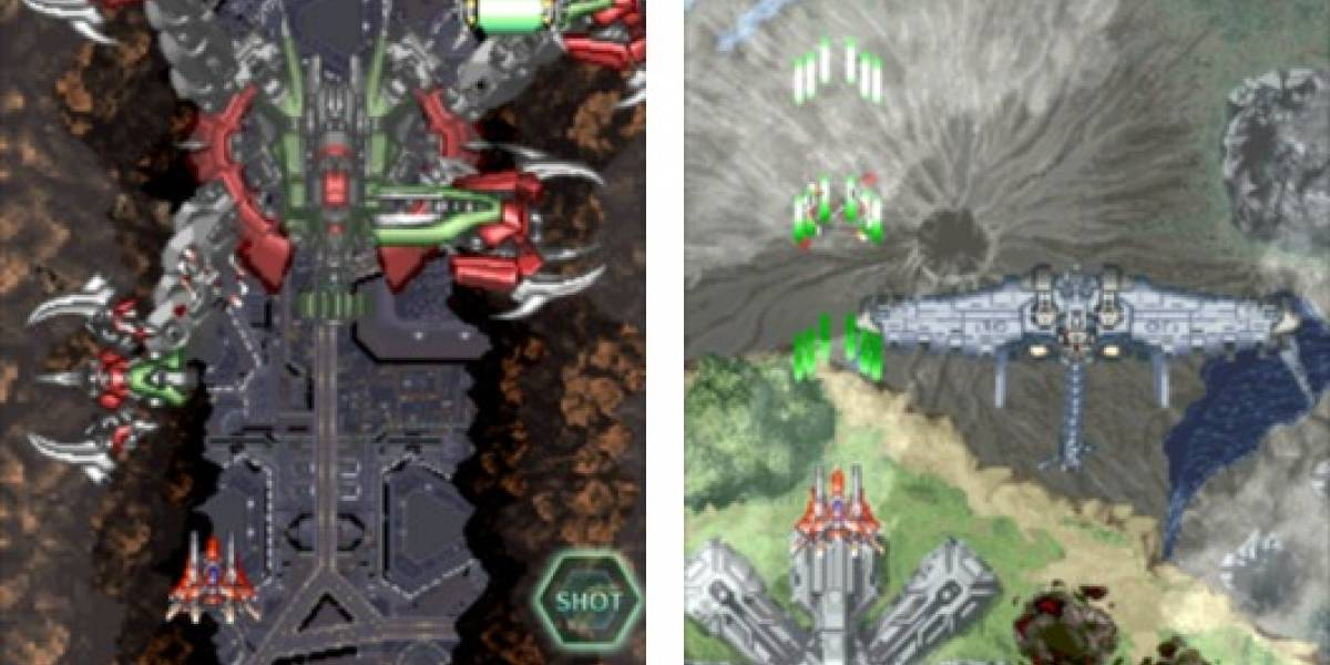El clásico videojuego RayForce llega al iPhone