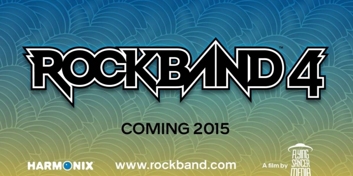 Rock Band 4 anunciado para Xbox One y PlayStation 4