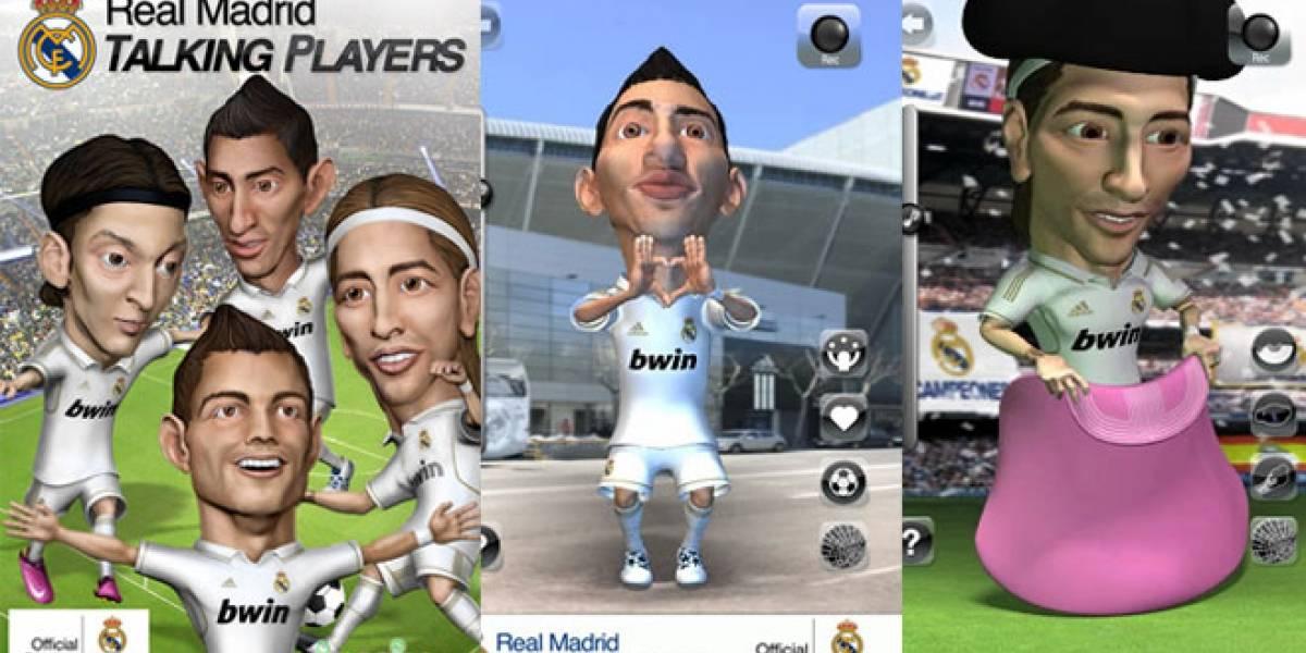 Llega 'Real Madrid Talking Players': Habla con los jugadores merengues desde tu iOS