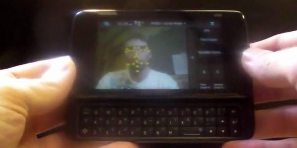 Nokia N900 verifica identidad mediante reconocimiento facial [Video]