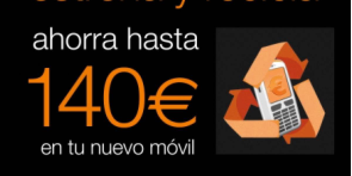 España: Orange incentiva con descuentos el reciclaje de teléfonos móviles