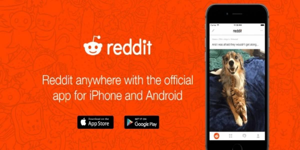 Reddit estrena aplicación para móviles