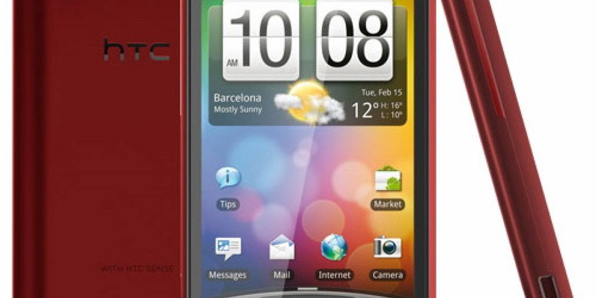 ¿Un HTC Incredible S en color fresa?