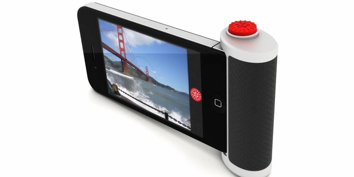 Aquí está el botón-disparador que tanta falta hace en el iPhone
