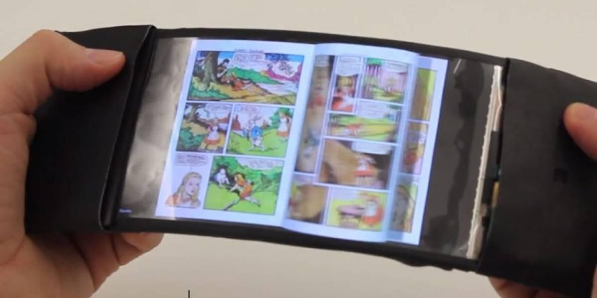 Este es ReFlex, el primer smartphone totalmente flexible y táctil