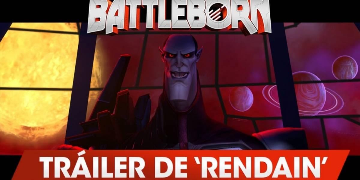 Nuevo tráiler de Battleborn presenta a Lothar Rendain, el malo de la película