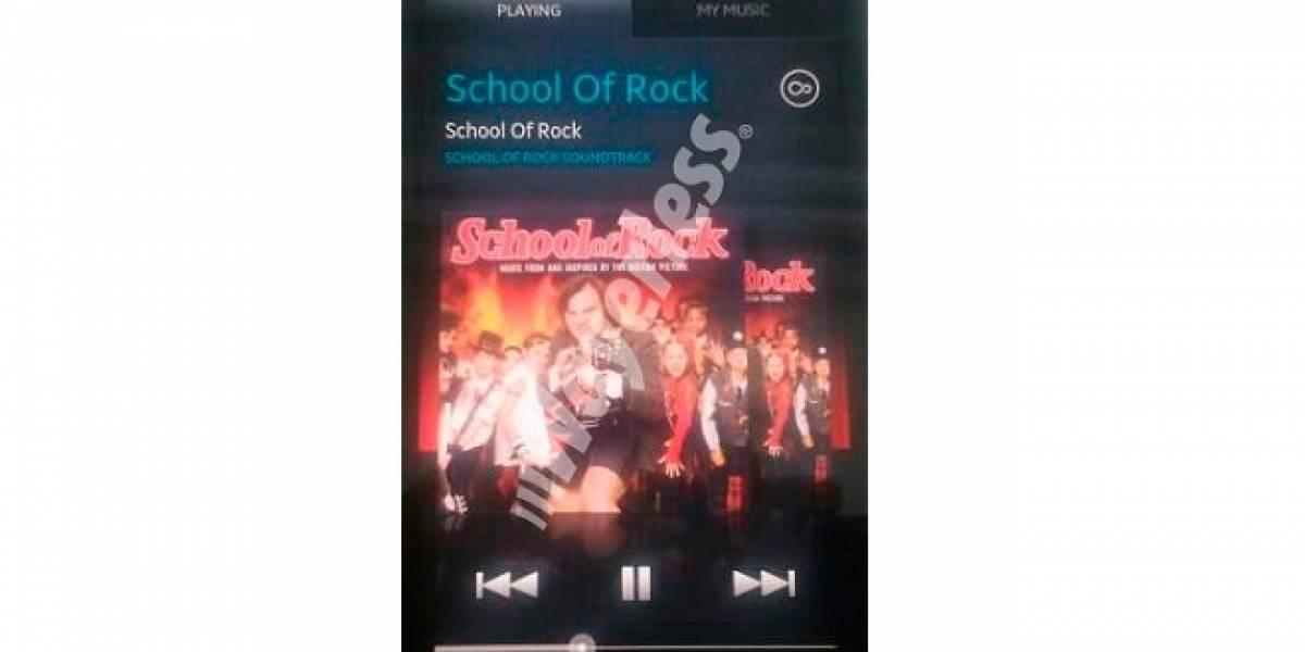 W Exclusivo: Captura del nuevo reproductor de música de Sony Ericsson