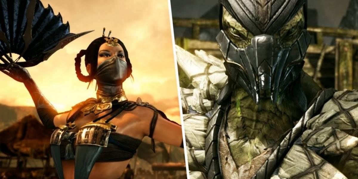 Nuevos videos de Mortal Kombat X con Reptile y Kitana en acción