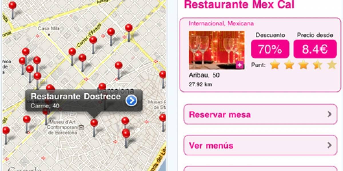 Europa: Reserva mesa para un restaurante desde tu iPhone