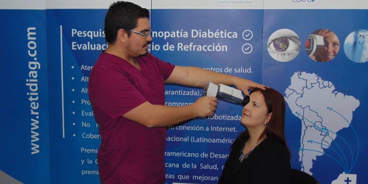 Emprendimiento permite que se detecte más rápido el daño de la diabetes en la vista