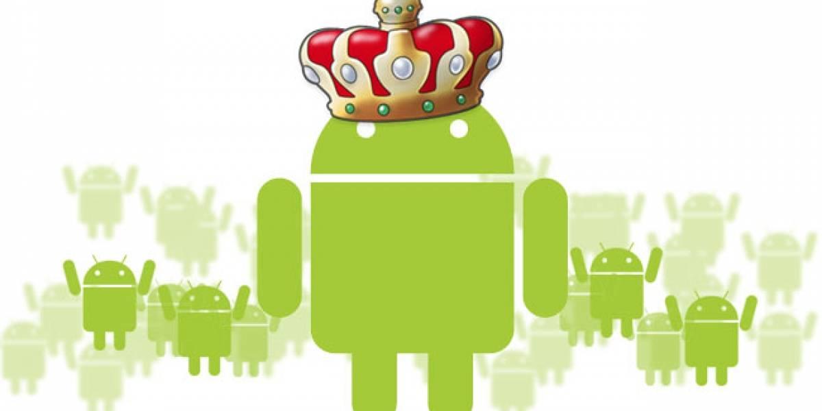 Comenzó oficialmente el imperio de Android entre las plataformas de smartphones