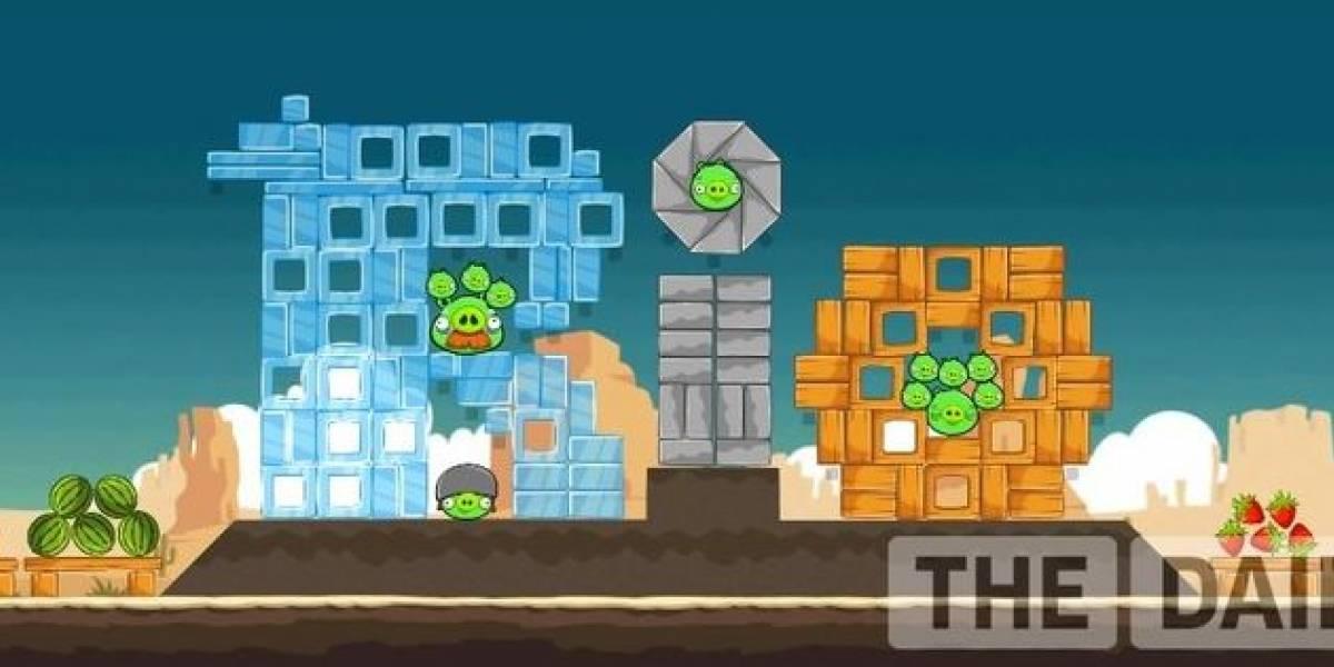 Código secreto en publicidad durante el Super Bowl revelará nuevo nivel en Angry Birds