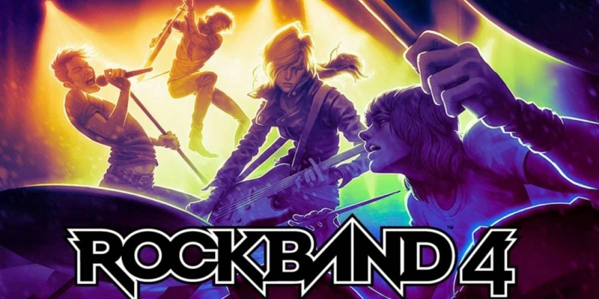 Se revelan las primeras seis canciones de Rock Band 4