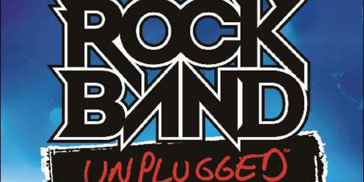 Esta es la lista completa de canciones de Rock Band Unplugged