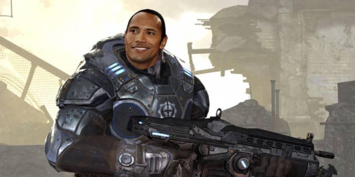 Futurología: The Rock como Marcus Fenix en la película de Gears of War