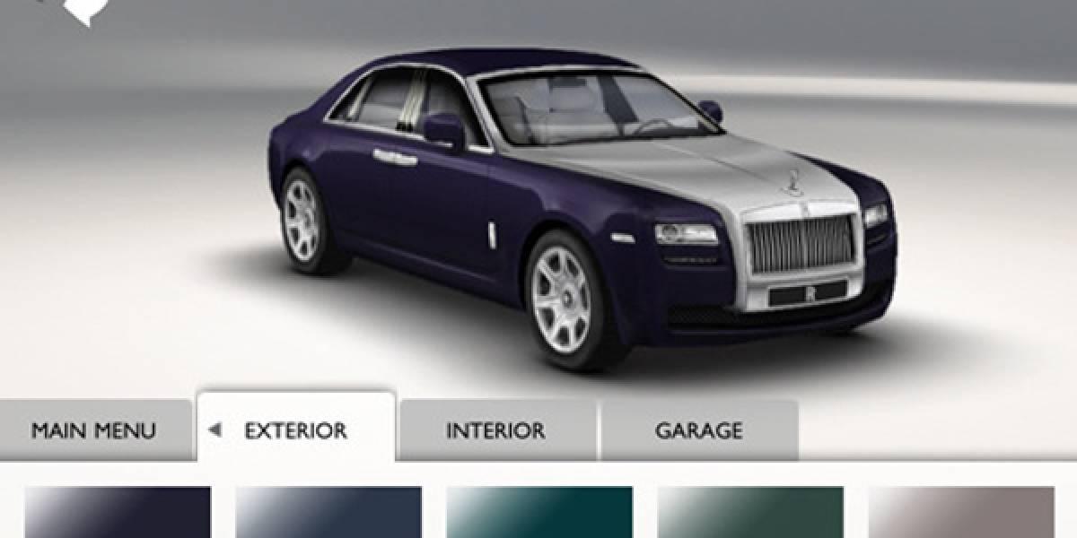 App de Rolls-Royce permite diseñar el auto