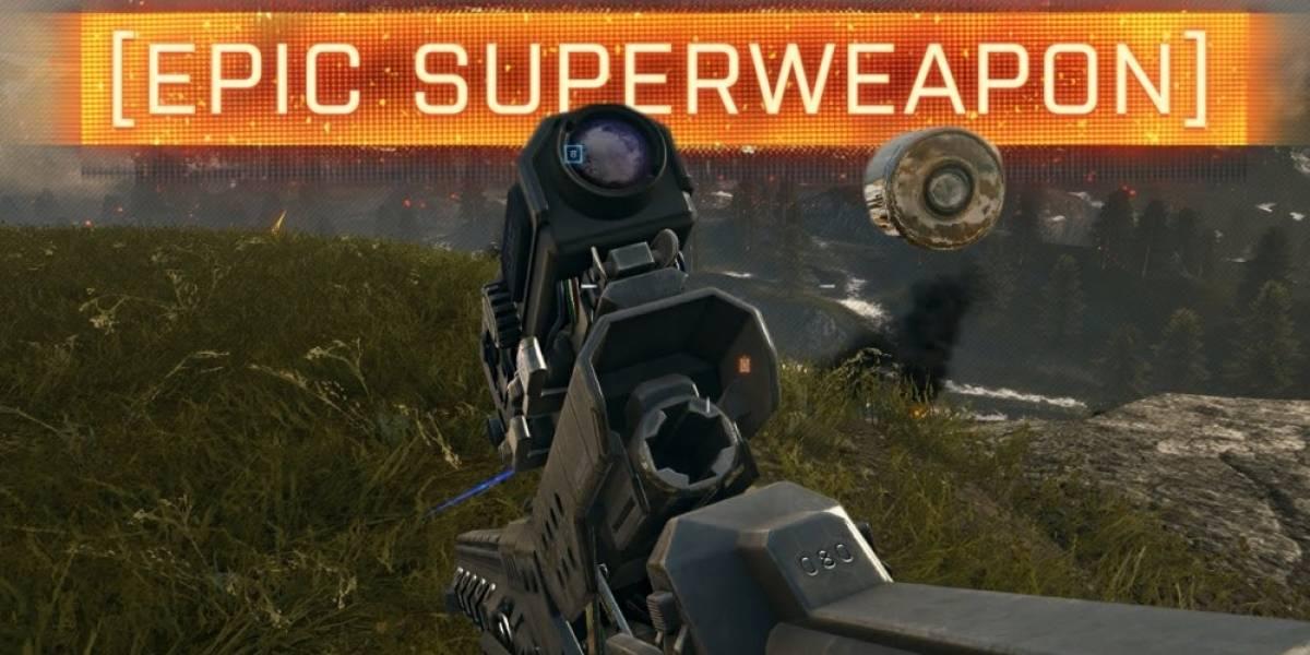 Un vistazo a la nueva Railgun incluida en Battlefield 4: Final Stand