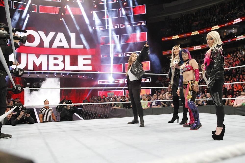 Su aparición fue una grata sorpresa. / WWE