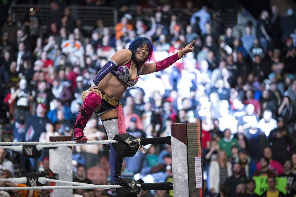 Buen triunfo de la japonesa. /WWE