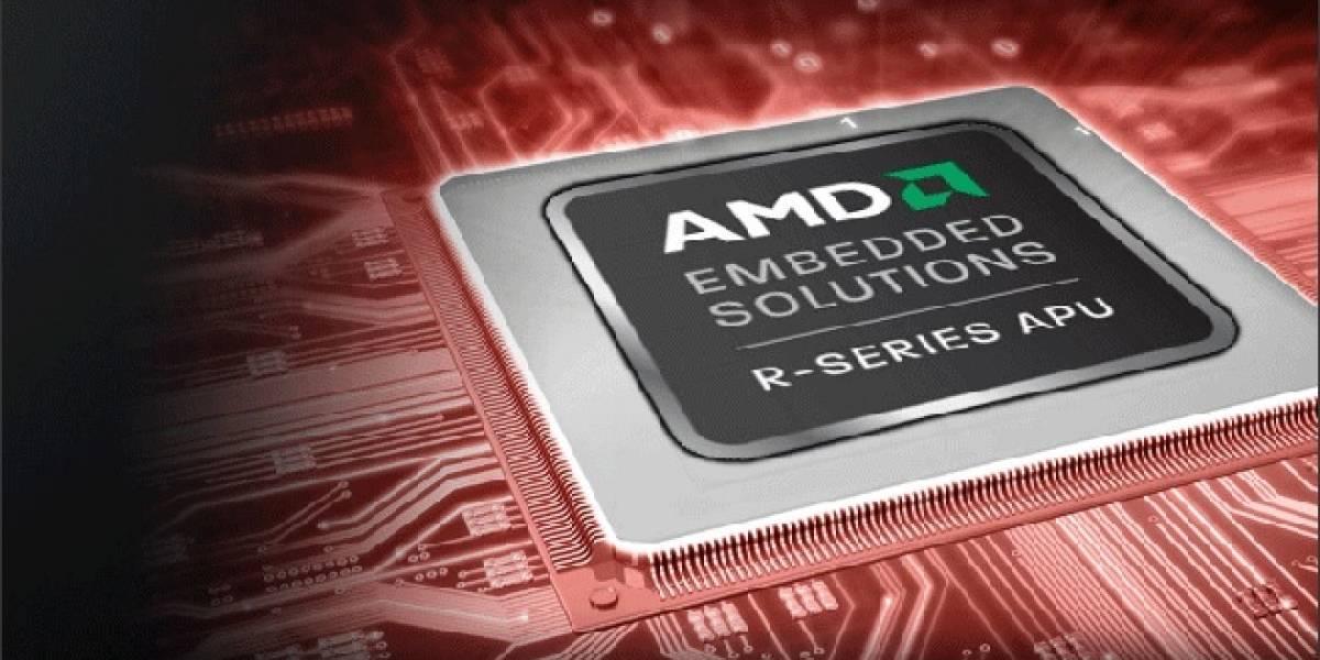 AMD Lanza sus APU Trinity R-Series para el segmento industrial.
