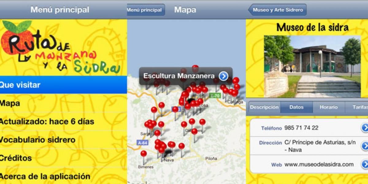España: Sigue la 'Ruta de la Manzana y la Sidra' en tu iOS y Android