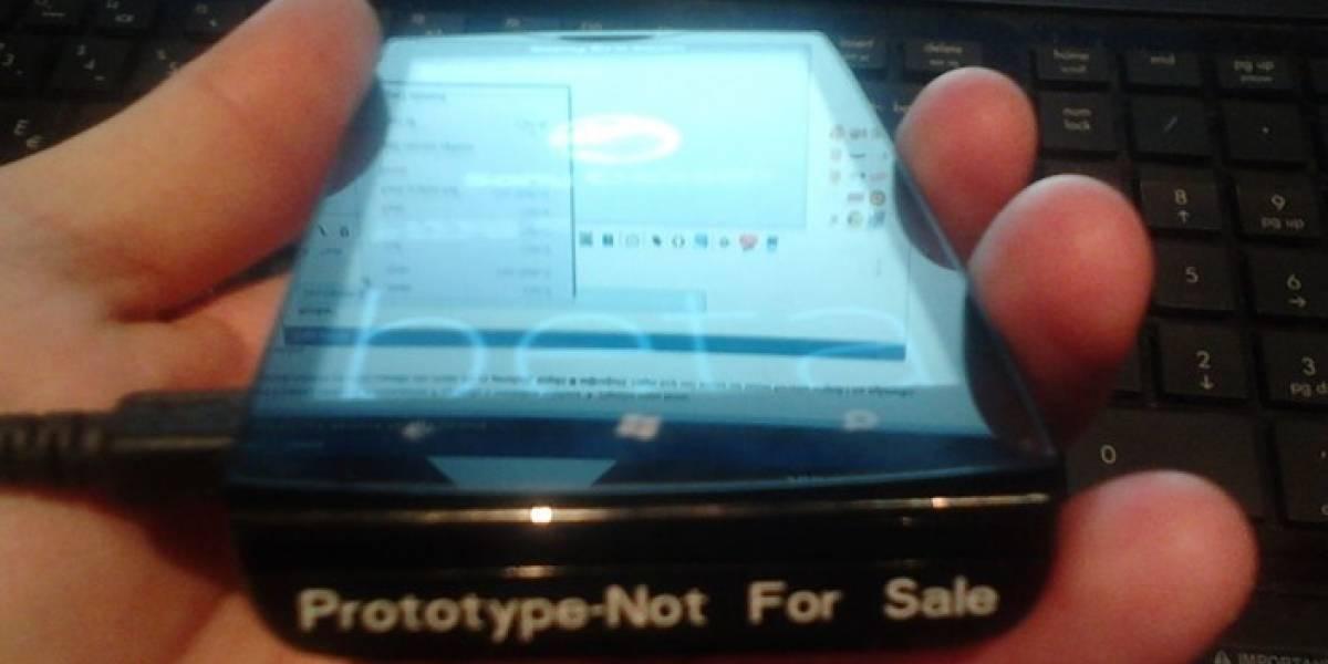 Aparecen imágenes filtradas de un móvil Sony Ericsson con Windows Phone 7