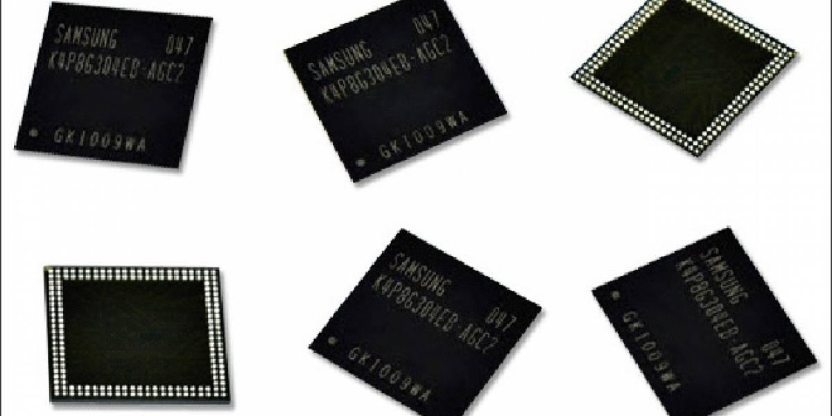 Samsung inicia la producción en masa de chips de memoria a 20nm