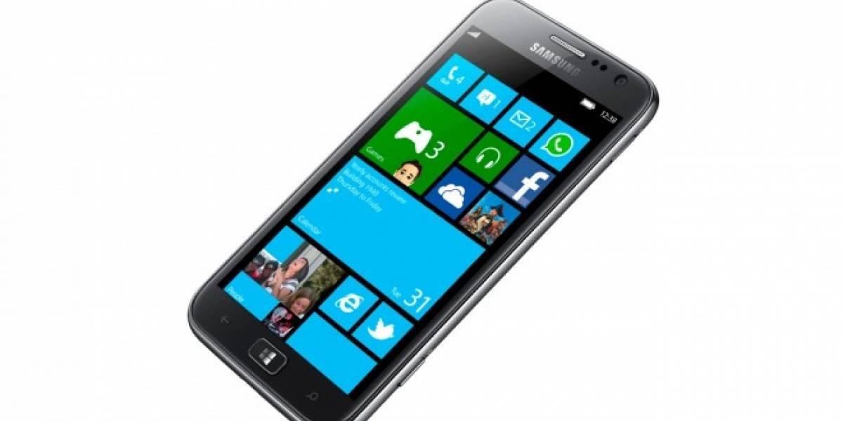 Samsung ATIV S con Windows Phone recibe una inesperada actualización