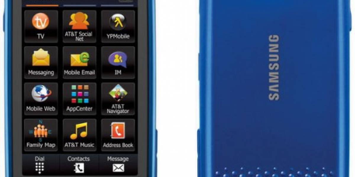Samsung y AT&T presentaron el Eternity II
