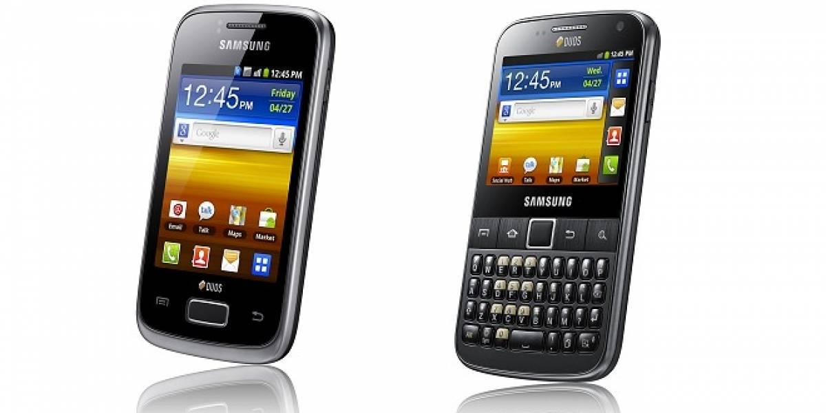Samsung agrega smartphones Dual SIM a su línea GALAXY
