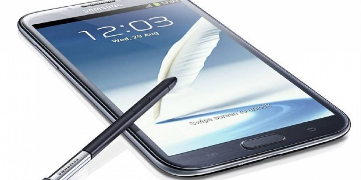 Samsung ya ha distribuido 5 millones de unidades de su Galaxy Note II
