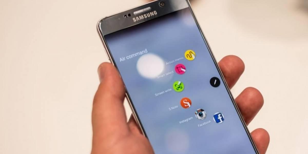 Galaxy Note 5 es el smartphone favorito en Estados Unidos