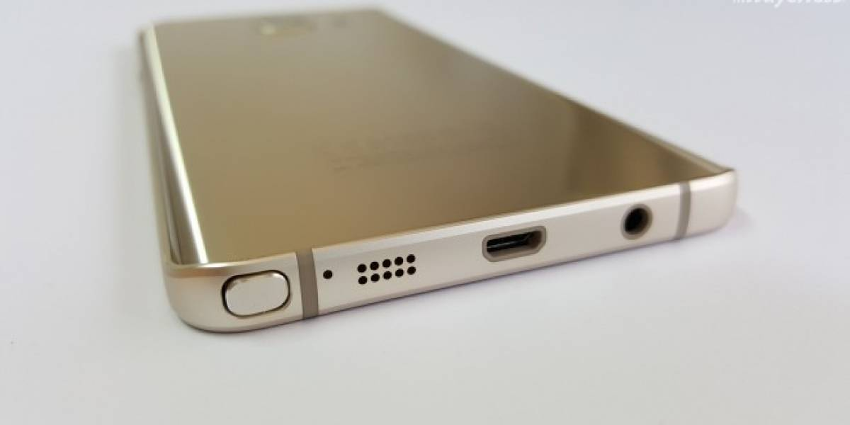 Galaxy Note 6 podría incluir puerto USB-C