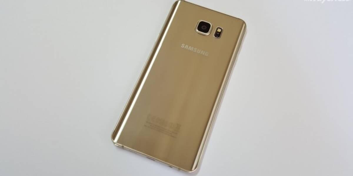 Samsung lanza un Galaxy Note 5 con 128GB de almacenamiento