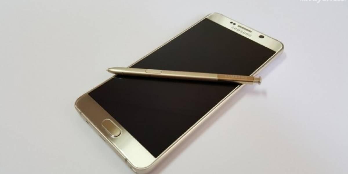 Samsung Galaxy Note 5 hace su arribo oficial a Chile