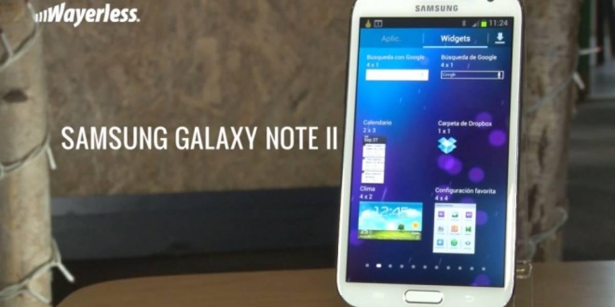 Aún hay esperanza: Vuelven a confirmar actualización a Lollipop para el Samsung Galaxy Note II