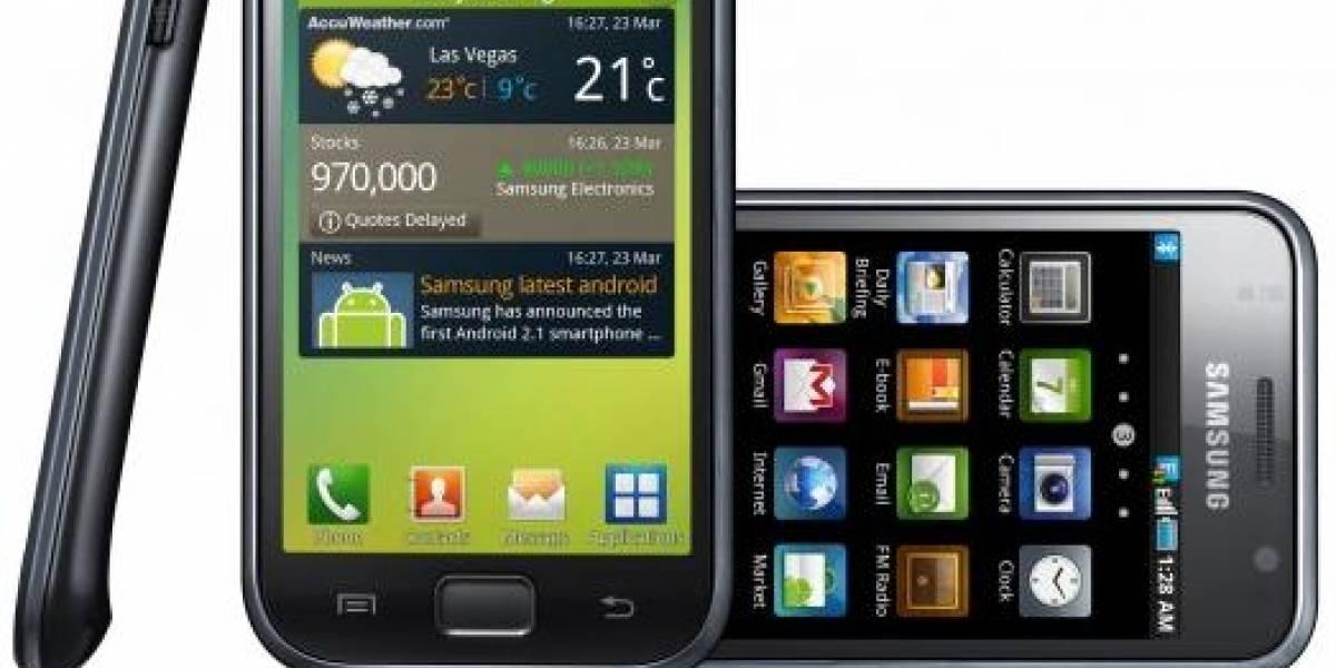 Samsung detiene las actualizaciones de Galaxy S a Android 2.3