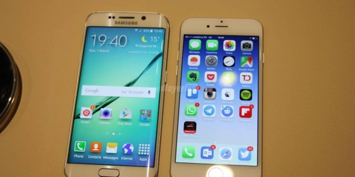 Samsung líder en venta de Smartphones y amplia distancia con Apple