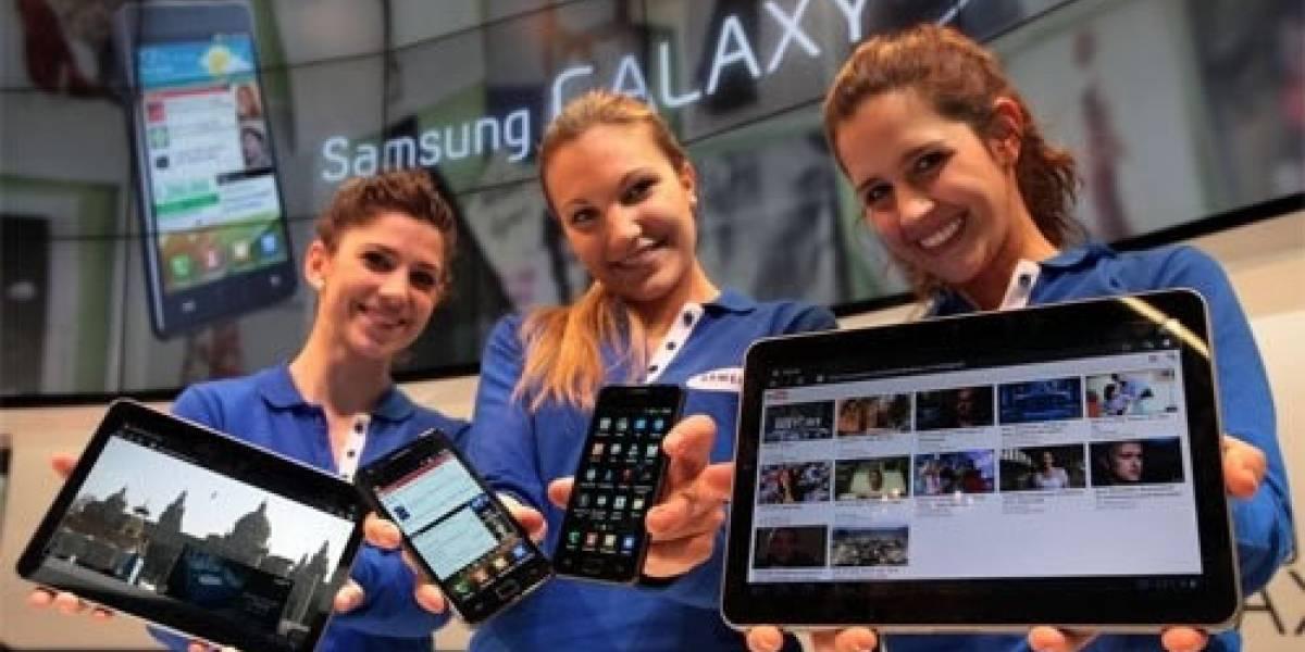 Samsung confirma que la Galaxy S II saldrá este mes