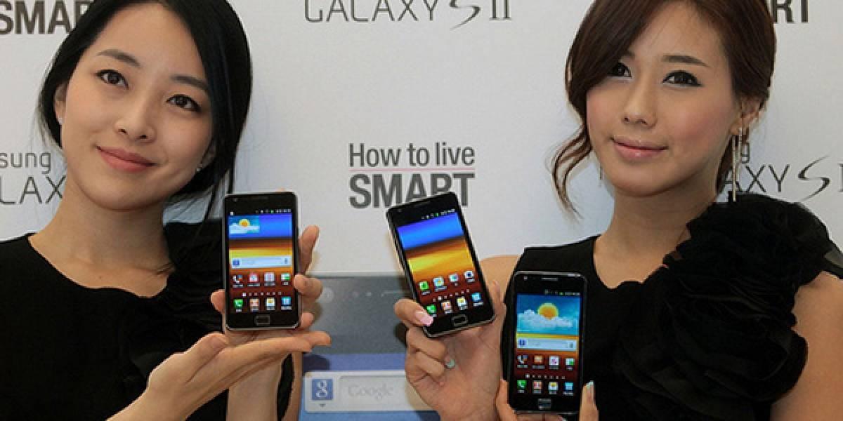 Galaxy S II recibió 200 mil reservas en Corea