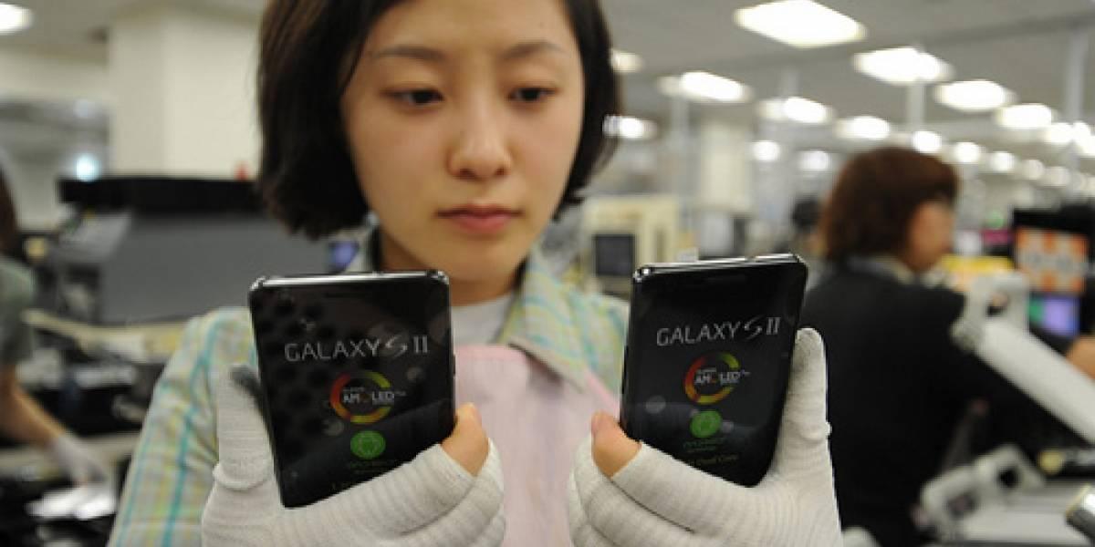 Samsung Galaxy S II: 3 millones de reservas