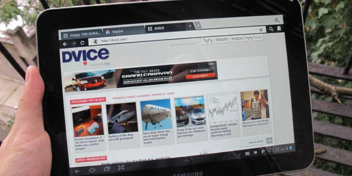 Samsung lanzaría una nueva Galaxy Tab para competir con el iPad 3