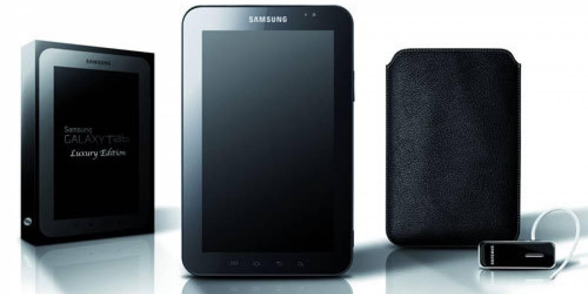"""Samsung presenta la """"edición de lujo"""" de su Galaxy Tab"""
