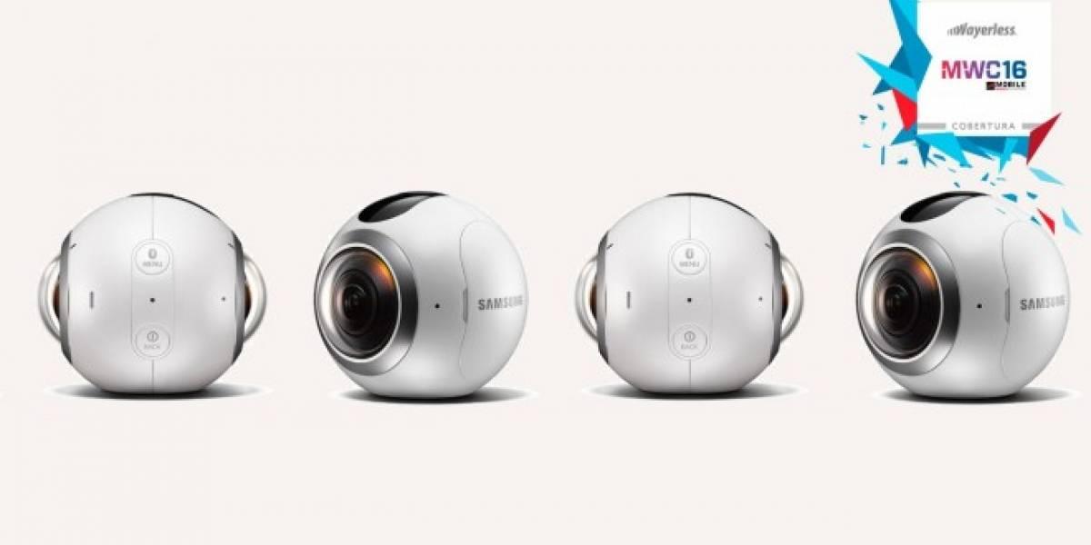Samsung anuncia la Gear 360, su cámara de 360 grados #MWC16