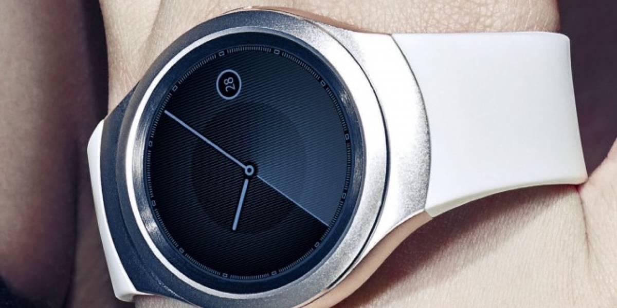 Aparece una fotografía real del próximo Samsung Gear S2