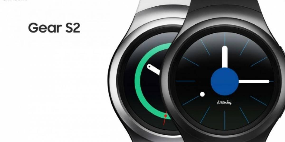 Samsung Gear S2 sale a la venta este viernes