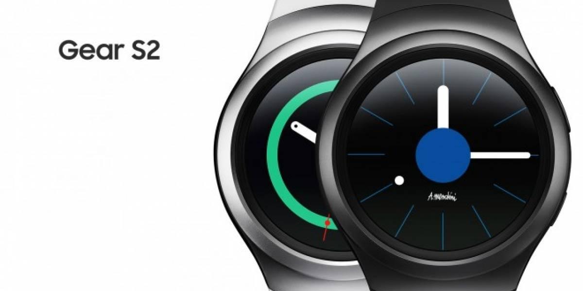 Samsung hace oficial a sus nuevos Gear S2 y Gear S2 Classic